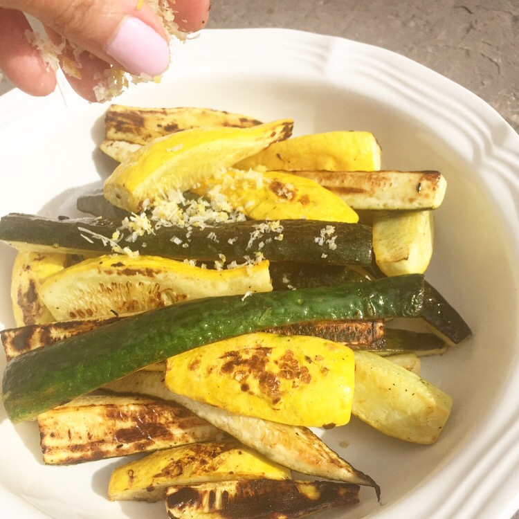 how to make grilled zucchini and squash